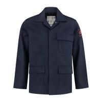 Werkjack Best4Work vlamvertragend AST ongevoerd, Navy 1