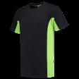 T-shirt Tricorp 102002 TT2000 zwart/lime