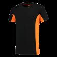 T-shirt Tricorp 102002 TT2000 zwart/oranje