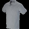 Poloshirt Workman Luxe 220 gr/m2 grijs melee