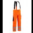 Regenbroek Blaklader 1302 zware kwaliteit EN471   Fluor oranje
