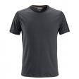 T-shirt Snickers 2518 Allround Work 160gr/m2 staalgrijs-zwart