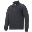 Sweater Snickers 2813 multipockets ritskraag staal grijs