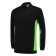 Polosweater Tricorp 302001 zwart met lime