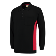 Polosweater Tricorp 302001 zwart met rood