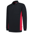 Polosweater Tricorp 302001 Navy met rood