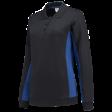 Dames polosweater Tricorp 302002 Bi-colour navy/korenblauw