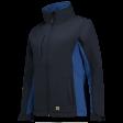 Dames softshell jas Tricorp 402008 navy met korenblauw