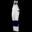 Amerikaanse overall Workman Luxury met Cordura | Wit/Navy