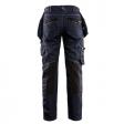 Dames werkbroek Jeans Blaklader X1900 stretch axhterzijde