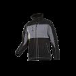 Fleecejack Sioen Durango 611Z bi colour zwart / grijs