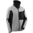 Gebreid jack Mascot 17105 Advanced grijs met zwart