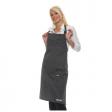 Halterschort Rock Chef RCLS 1-51  70 x 90 cm | Zwart met Antraciet
