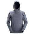 Hooded Sweater Snickers 2881 met 3d print blauw melee