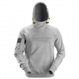 Hooded Sweater Snickers 2881 met 3d print grijs melee