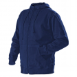 Hooded sweatjack Blaklader 3366  navy blauw