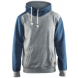 Hooded sweater Blaklader 3399 bi-colour grijs / blauw