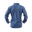 Jeans overhemd Brams Paris Brad 2.353 A54 denim ACHTERZIJDE
