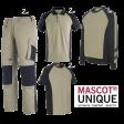 Kledingpakket Mascot Unique Khaki met Zwart ( Premium pakket)