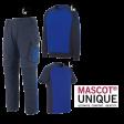 Kledingpakket Mascot Unique korenblauw met navy budget