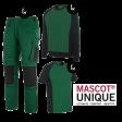 Kledingpakket Mascot Unique Groen met Zwart budget