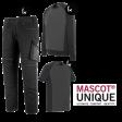 Kledingpakket Mascot Unique Zwart met Grijs budget