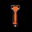 Lifehammer met wandbeugel oranje