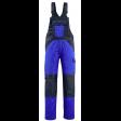 Amerikaanse overall Mascot Leeton met kniezakken korenblauw met navy