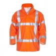 Regenparka Hydrowear Ontario Hydrosoft EN ISO 20471 RWS oranje