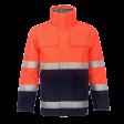 Parka Dapro Infinity bi-colour multinorm vlamvertragend EN471 | Oranje/blauw
