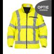 OPTIE! Direct fleece voering meebestellen. fluor geel