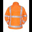 Hydrowear Franeker Fluor oranje achterzijde