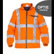 OPTIE! Direct fleece voering meebestellen. fluor oranje