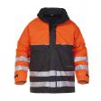 Parka Hydrowear Nijkerk Hydrosoft FR AST EN 471 | Oranje-Zwart