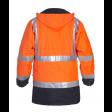 Parka Hydrowear Tenderline Apollo EN 471 oranje Back