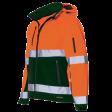 Parka Tricorp TPE3001 fluor oranje met groen