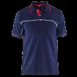 Polo blaklader 3389 bi-colour navy met rood