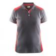 Polo Blaklader 3390 Dames bi-colour grijs/rood