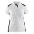 Polo Blaklader 3390 Dames bi-colour wit/grijs