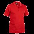 Polo pique Blaklader 3305 met borstzak rood