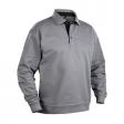 Polo sweater Blaklader 3370 met boord | Grijs