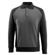 Sweater Mascot Magdeburg Bi-colour grijs / zwart
