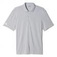 Poloshirt Adidas performance AD028 micro piqué grijs