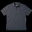 Poloshirt B&C Pro Skill Heavy duty 230gr/m2 | Dark Grey