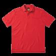 Poloshirt B&C Pro Skill Heavy duty 230gr/m2 | Rood