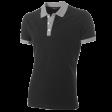 Poloshirt Tricorp PBF210 Fitted bi-colour zwart/grijs