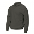 Polosweater Rom88 PSB280 met boord   Antraciet