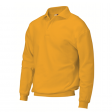 Polosweater Rom88 PSB280 met boord   Geel