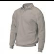 Polosweater Rom88 PSB280 met boord | Grijs Melange