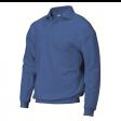 Polosweater Rom88 PSB280 met boord | Korenblauw